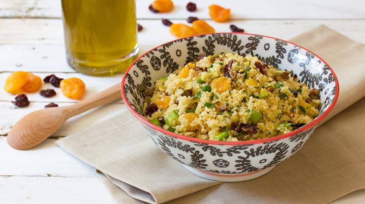 McCormick Couscous with Tart Cherries Apricots and Cumin