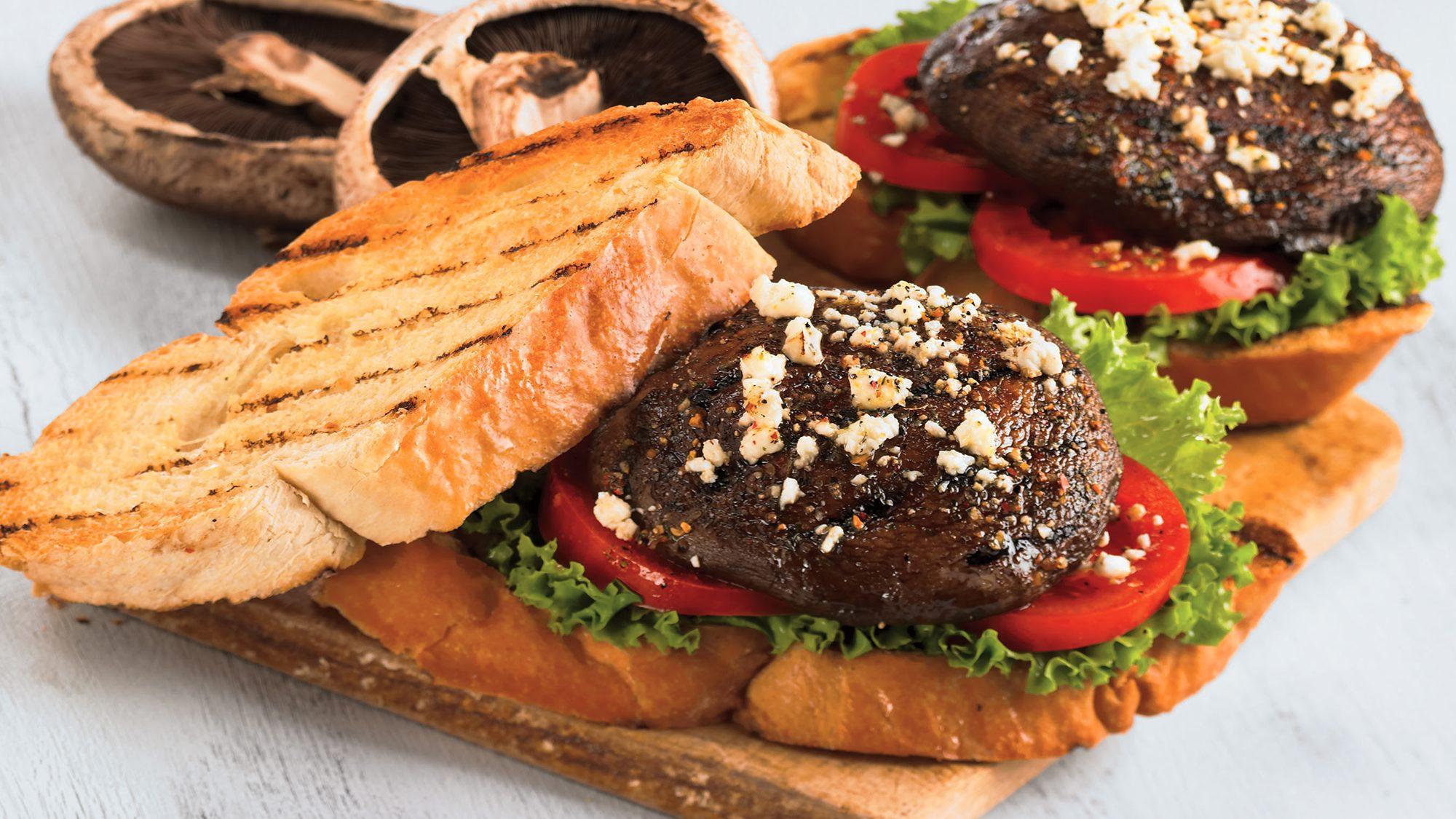 McCormick GrillMates Grilled Portobello Mushroom Panini