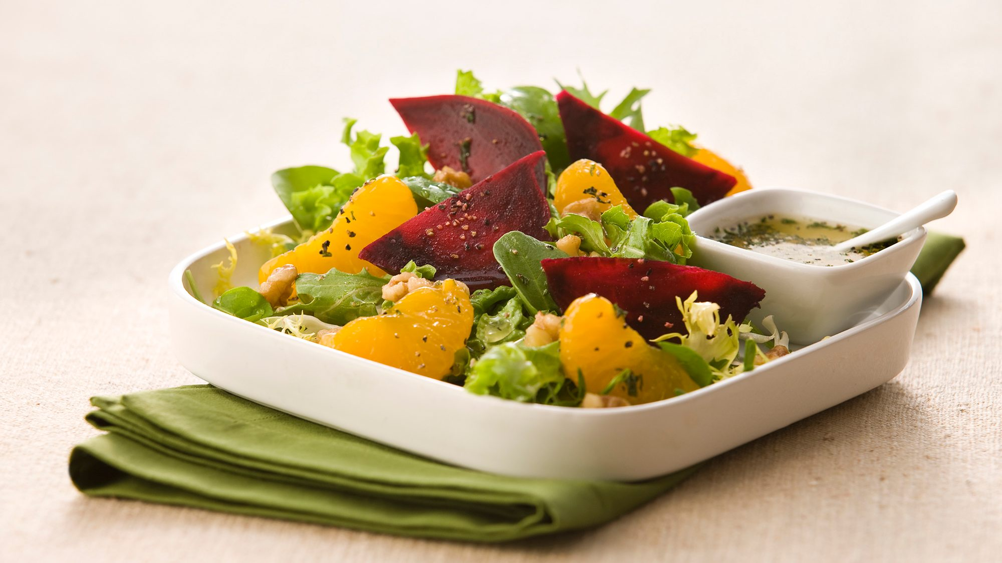 McCormick Gourmet Roasted Beet and Mandarin Orange Salad