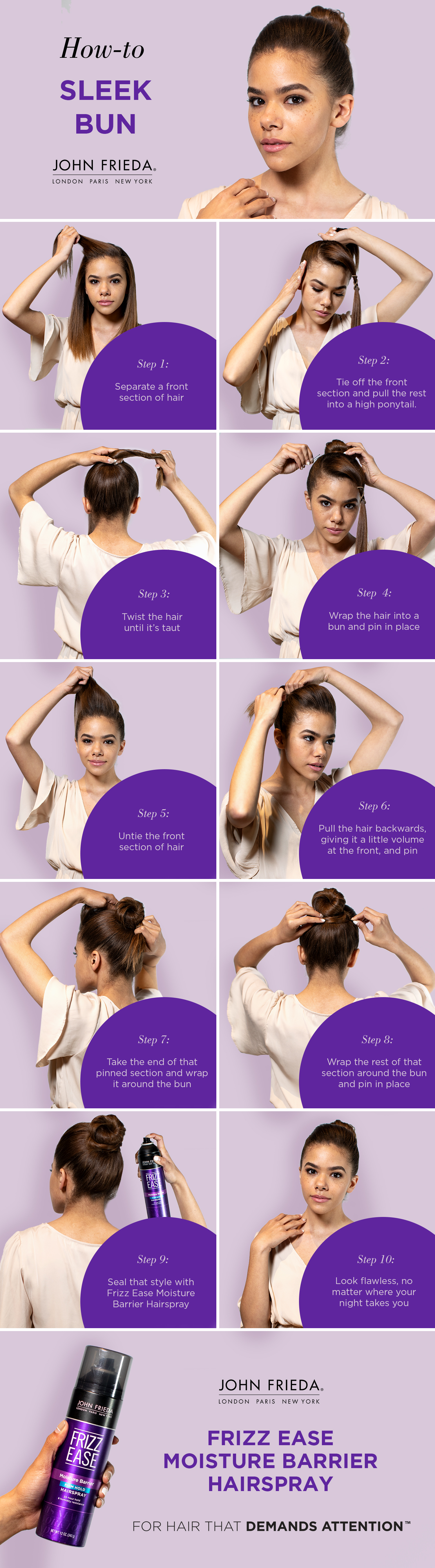 How To: Simple and Chic Bun
