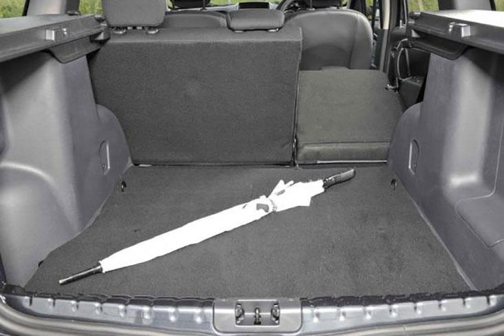 Folding rear seats