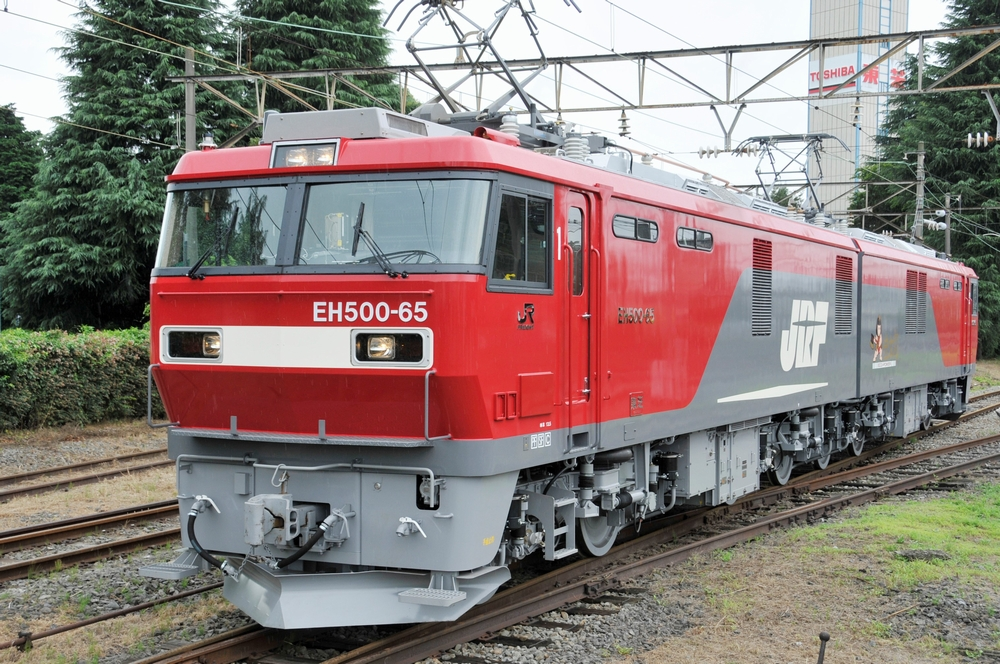 Type EH500 AC-DC dual system electric locomotive