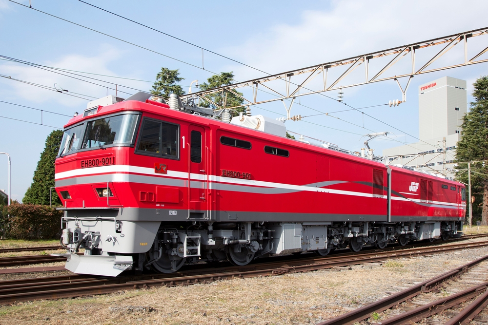 EH800形式 交流電気機関車