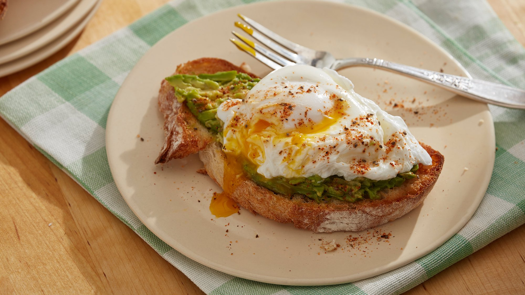 McCormick Gourmet Poached Eggs with Avocado Toast