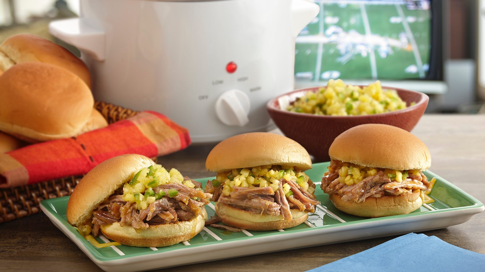McCormick Caribbean Jerk Pulled Pork Sliders