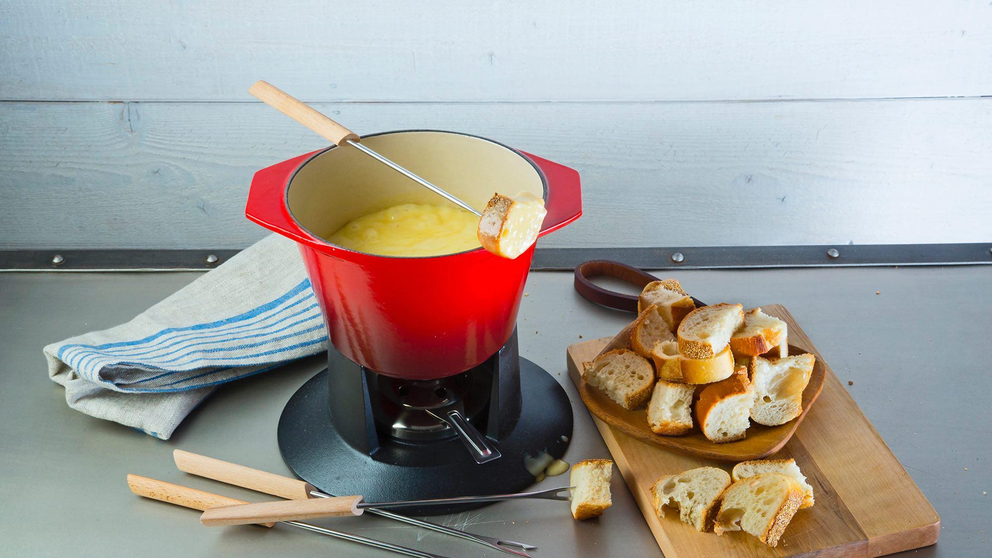McCormick Almond Cheese Fondue