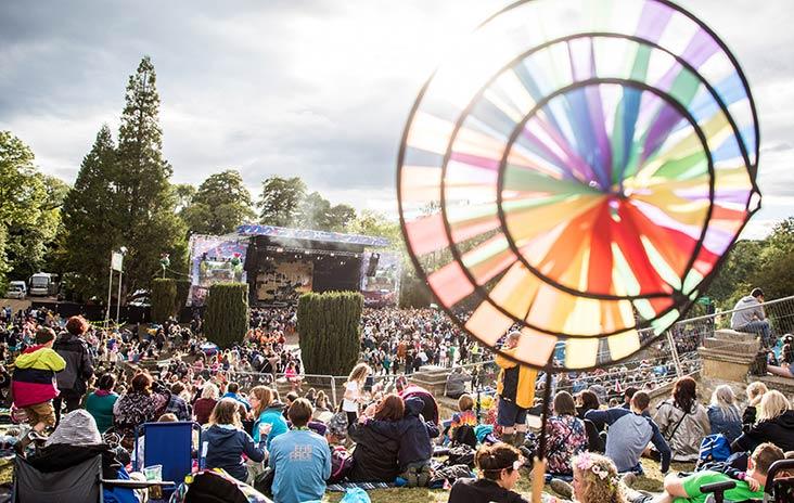 Scotland's Belladrum Tartan Heart Festival: a relaxed family event