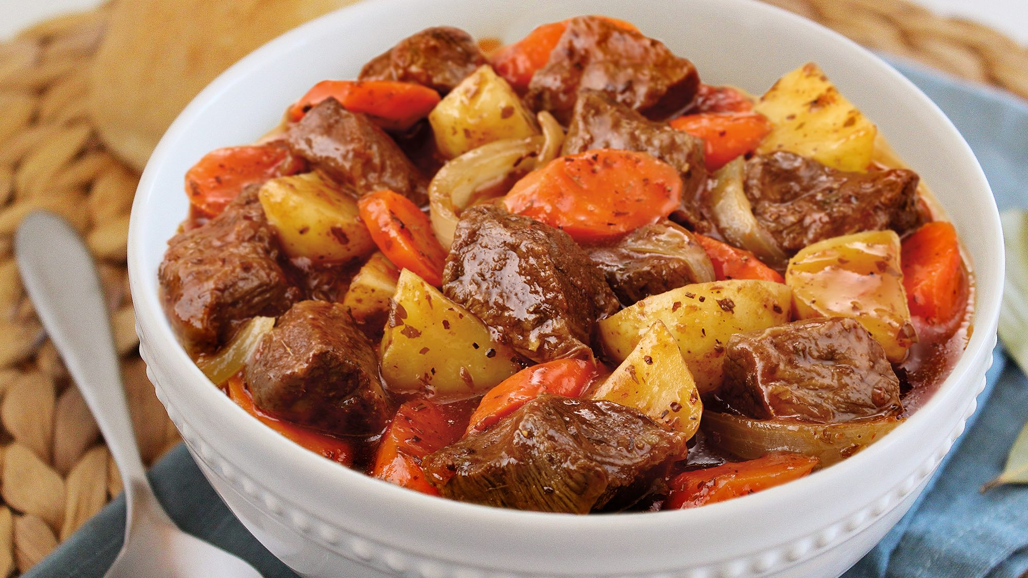 McCormick Slow Cooker Beef Stew with Herbs and Onion