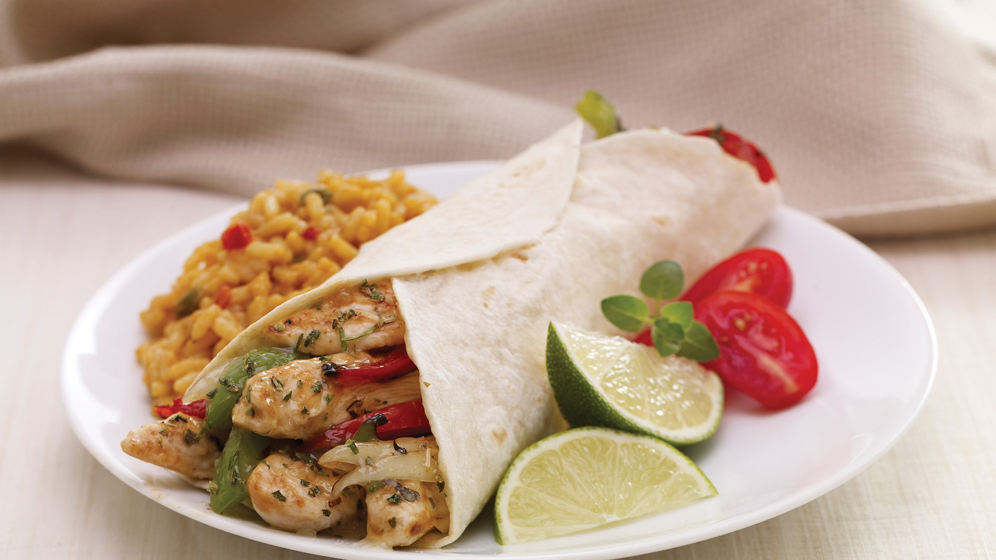 McCormick Garlic Lime Chicken Fajitas