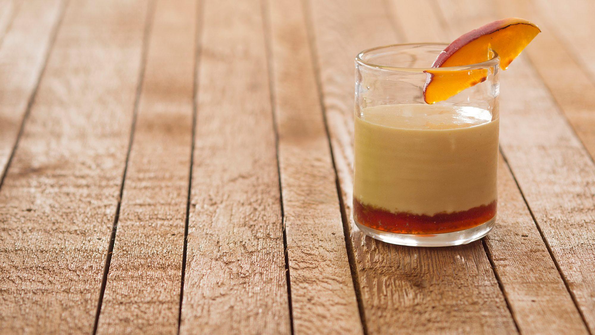 McCormick Gourmet Peach and Vanilla Brulée Cocktail