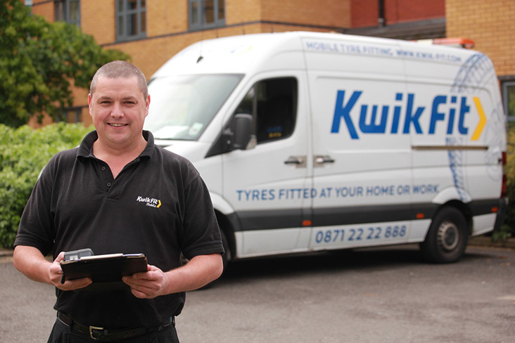 Kwik Fit engineer
