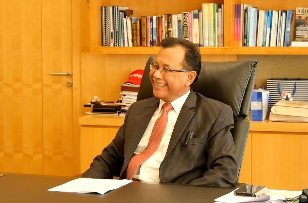 「Putrajaya Green City 2025」について語るプトラジャヤ市のダトー・ハシム・イスマイル市長