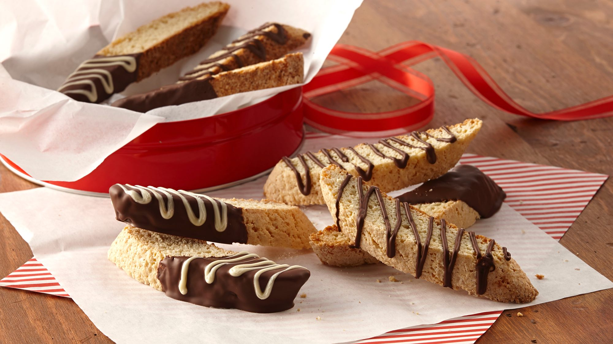 McCormick Chocolate Dipped Anise Biscotti