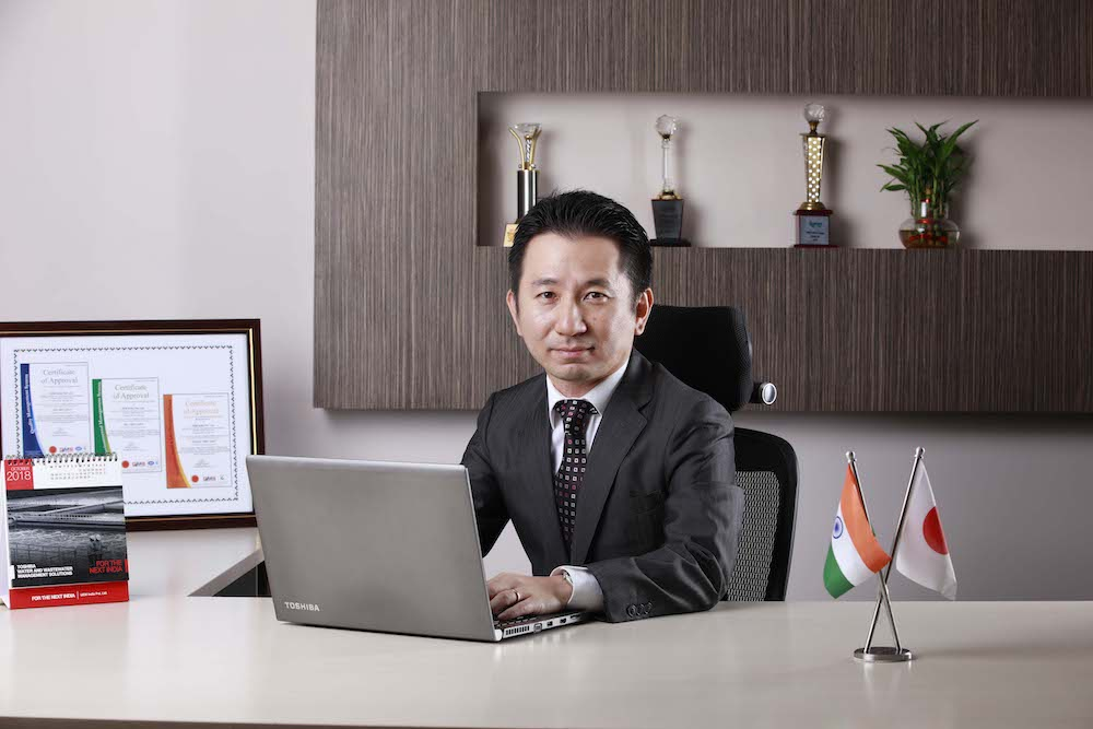 Koichi Matsui, CMD of Toshiba Water Solutions Private Limited, India