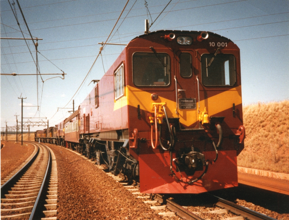 Class 10E electric locomotive for use in South Africa Still running after 30 years