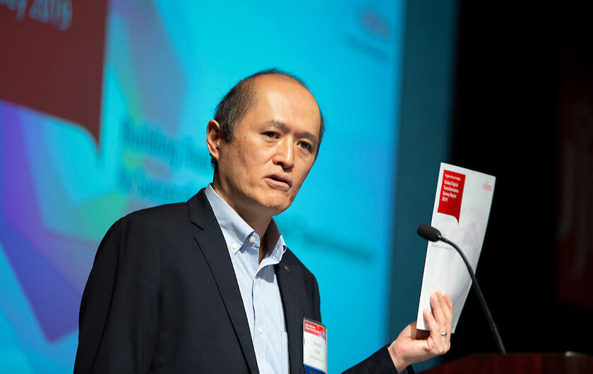 Photo : Hiroshi Tsuda, Head of the Security Research Laboratory & Blockchain Research Center, Fujitsu Laboratories Ltd.