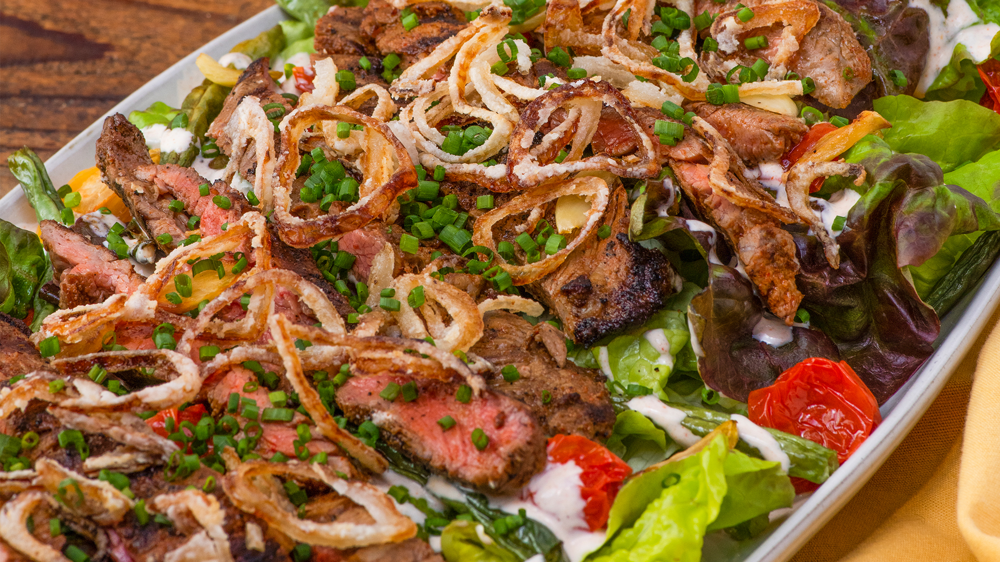McCormick Jazzy Steak Salad