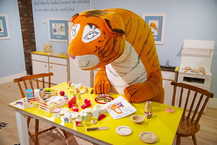 The Tiger Who Came to Tea interactive exhibit