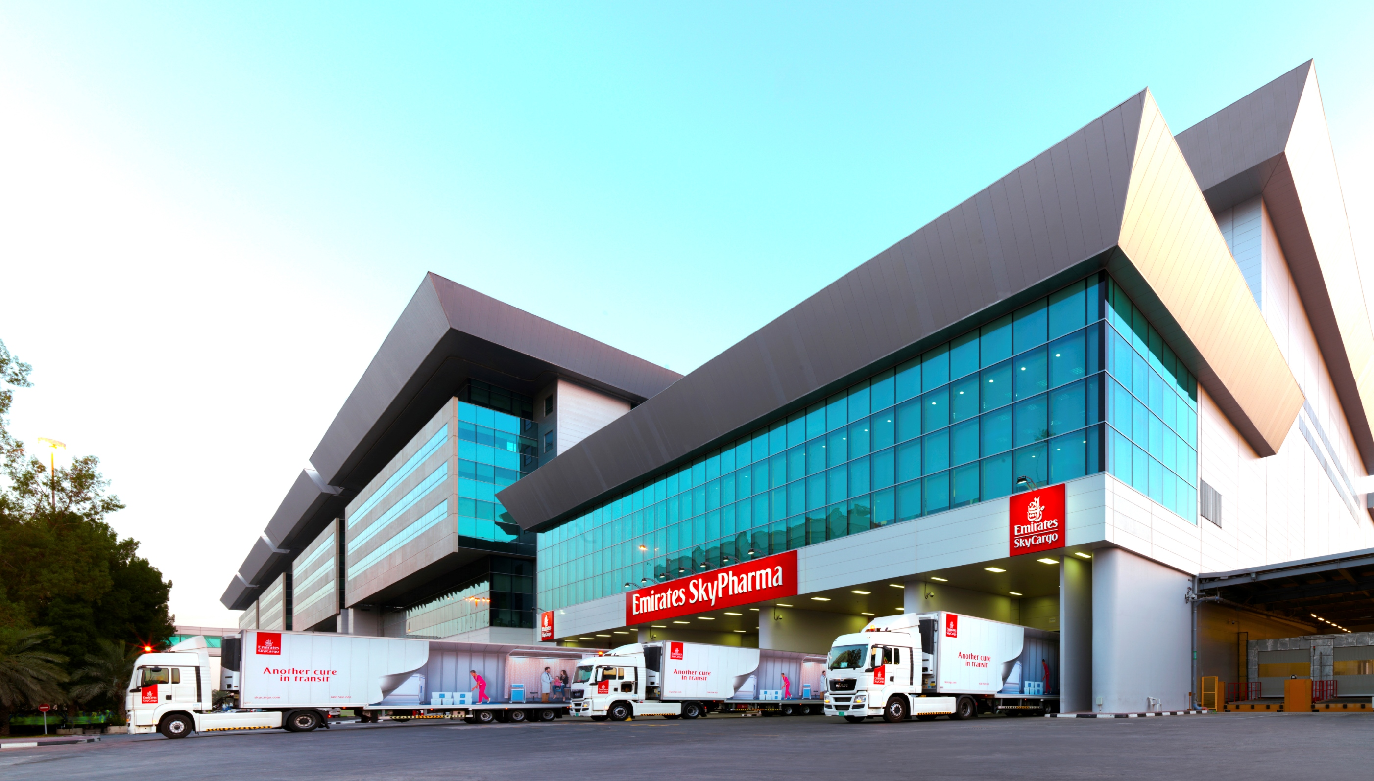 Emirates SkyCargo unveils new facility for  pharmaceutical products at Dubai International Airport.jpg