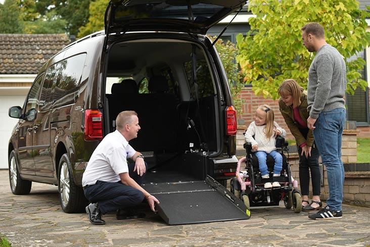 Motability Scheme specialist helping WAV customer