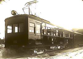 当時、鶴見臨港線を走っていた車両(鶴見臨港鐵道株式会社様ご提供)