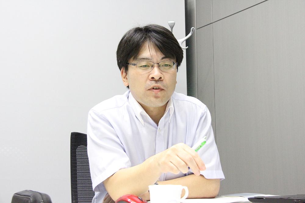 東芝エレベータ 技術本部商品企画部 商品戦略担当 グループ長 熊谷将一氏