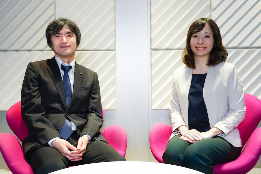 Masaru Inoue and Yuka Ishimaru
