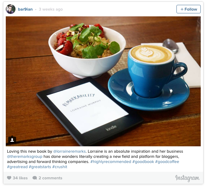 Kelloggs great starts campaign Instagram