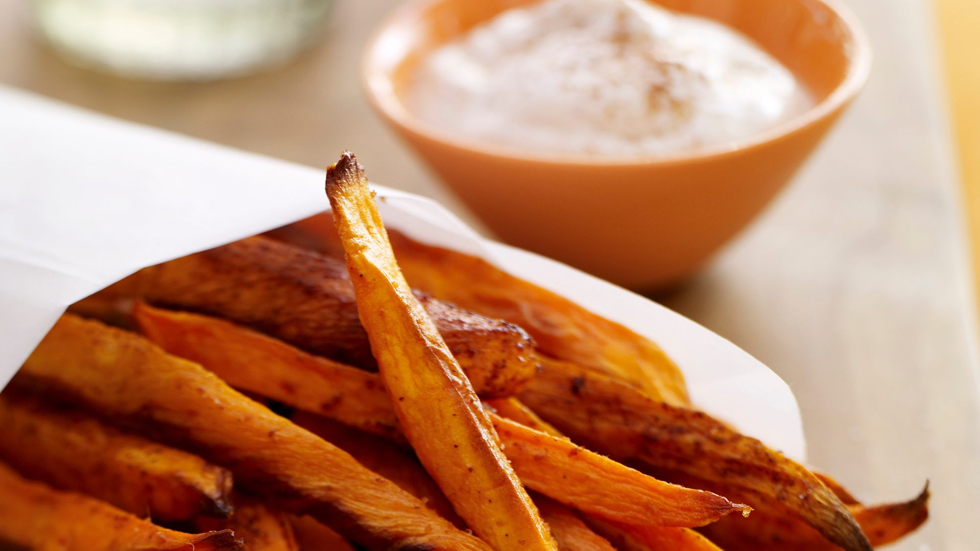 McCormick Baked Sweet Potato Fries with Honey Spice Dip