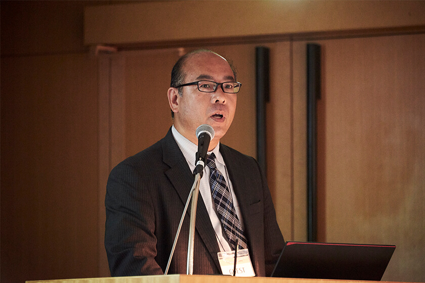 Photo : Shigenori Nakaya Exective Manager, Transport Division Japan Post