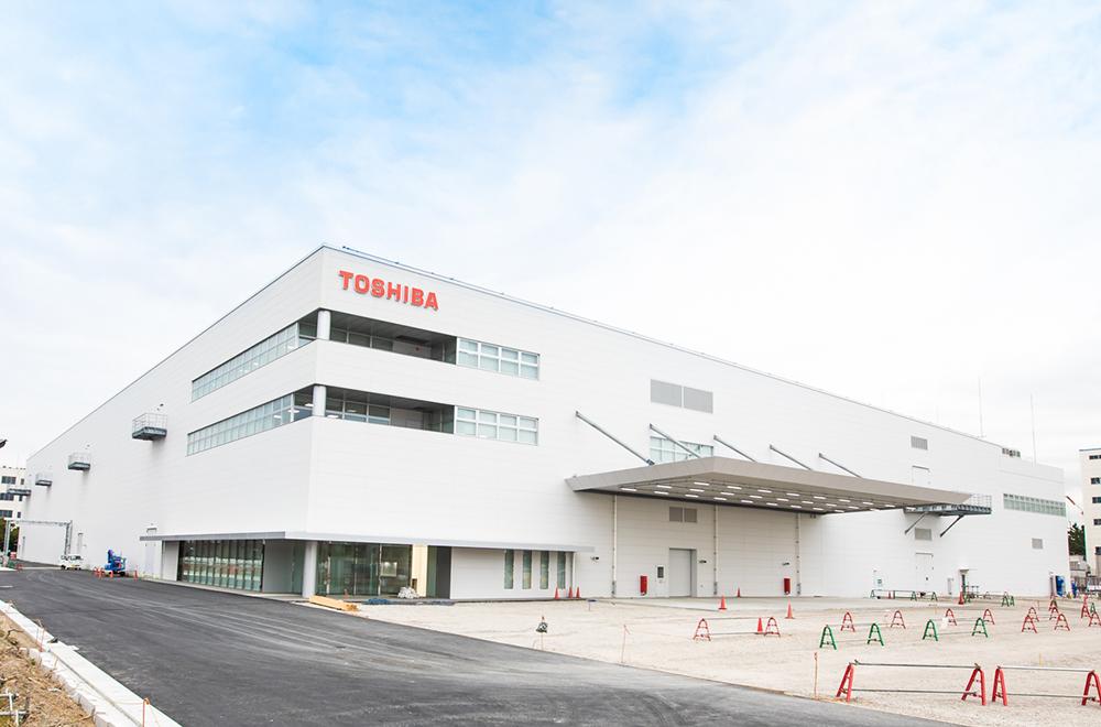 東芝横浜事業所内に建設が進むSCiB™の生産工場