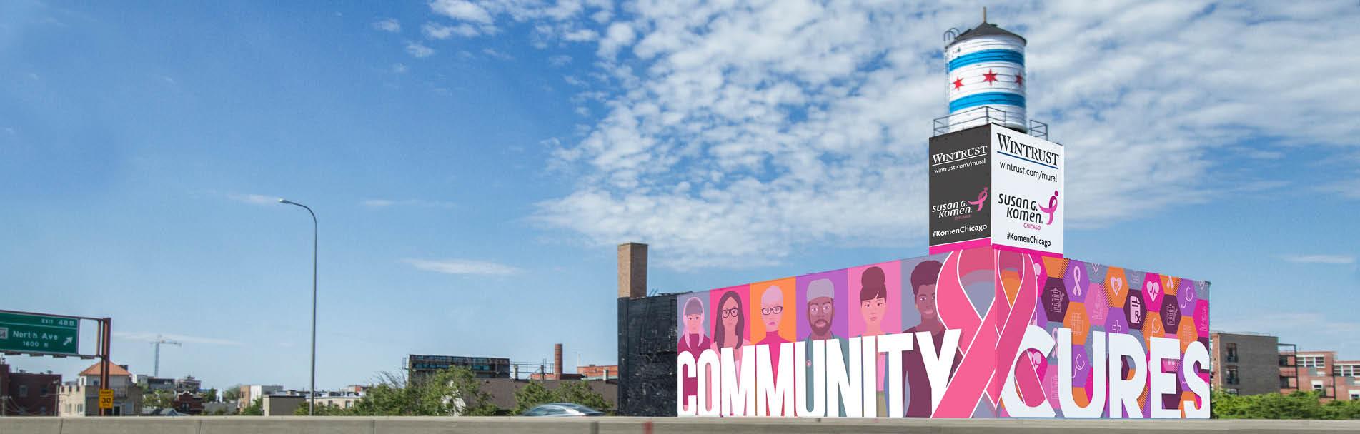The Mural Building: Susan G. Komen Chicago