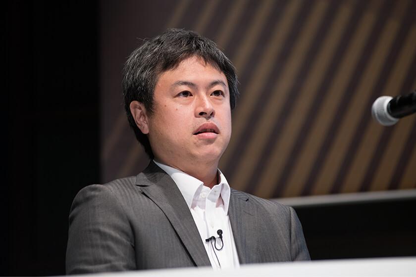 Photo : Hiroyuki OkuyamaSenior Manager, Open Innovation Promotion Office Area Brand Management Department Mitsubishi Estate Co., Ltd.
