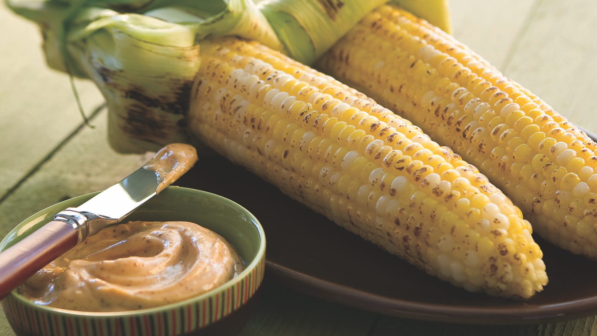 McCormick Grilled Mexican-Style Corn on the Cob with Lime Mayonnaise