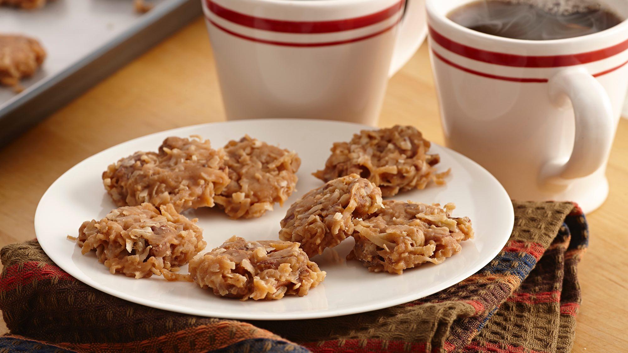 McCormick Coconut Praline No Bake Cookies