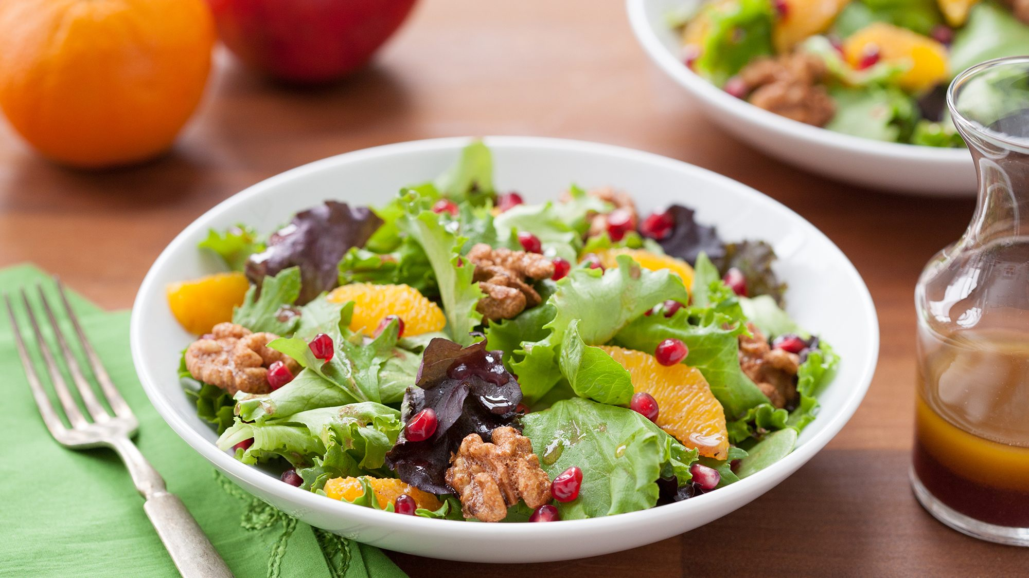 McCormick Spiced Pomegranate and Orange Salad