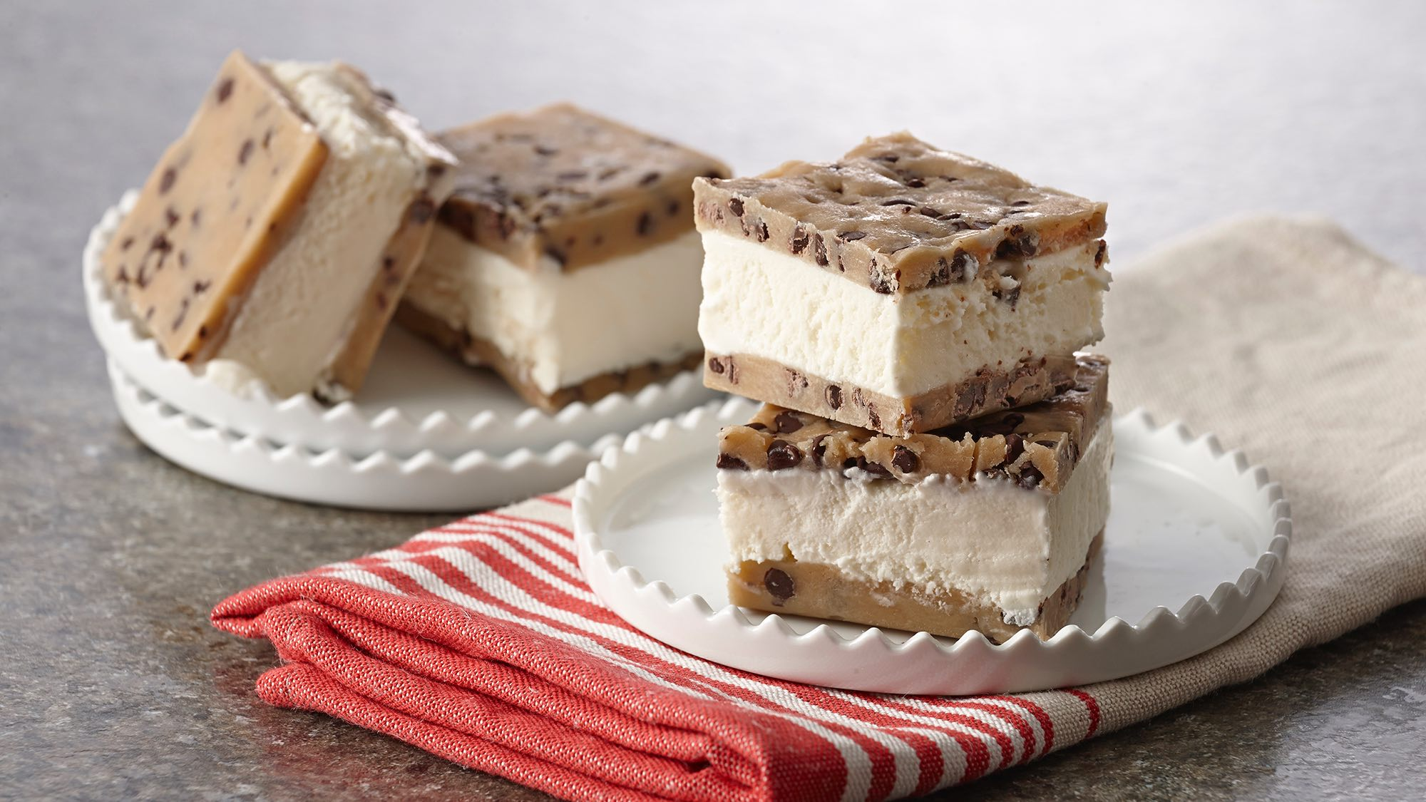 McCormick No Bake Cookie Dough Ice Cream Sandwich