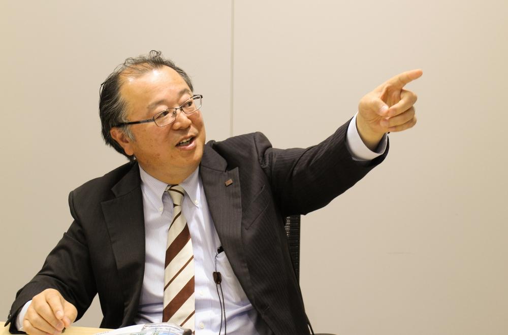 東芝エネルギーシステムズ株式会社・電力流通システム事業部 高木喜久雄氏