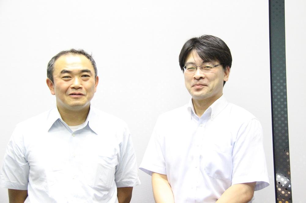 東芝エレベータ株式会社 佐野氏・熊谷氏