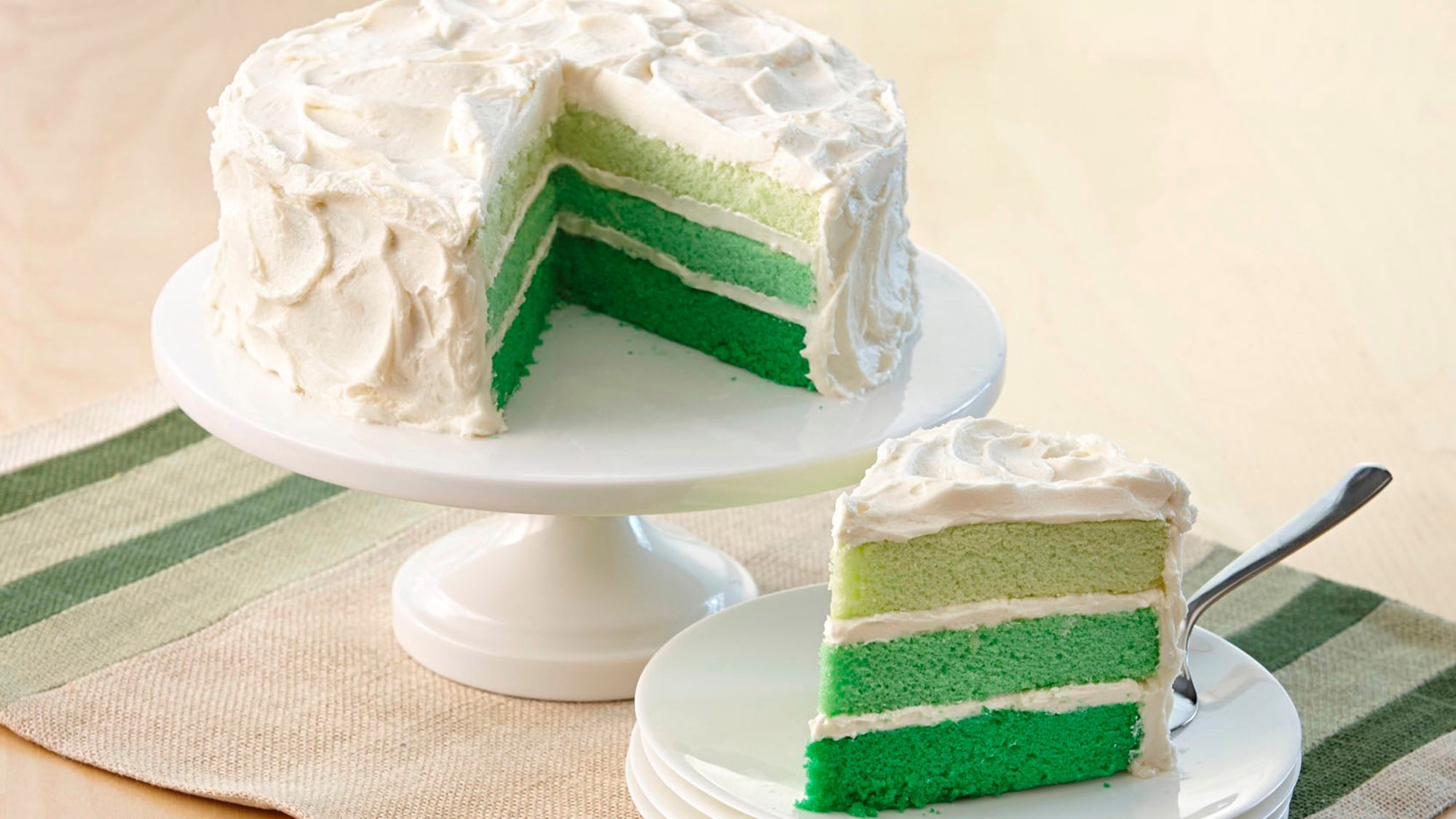 McCormick Ombre Cake