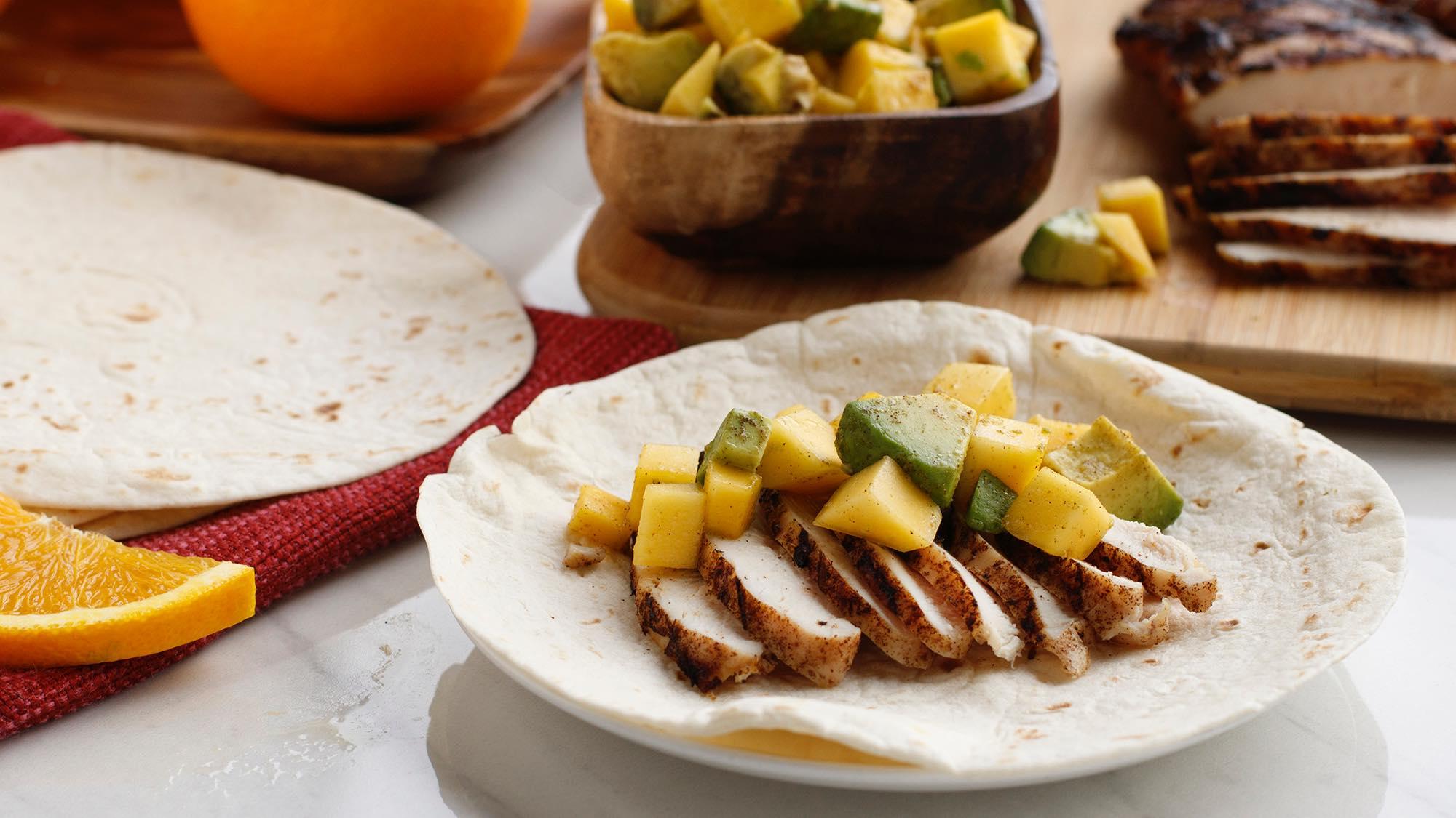 McCormick Cuban Mojo Chicken Tacos