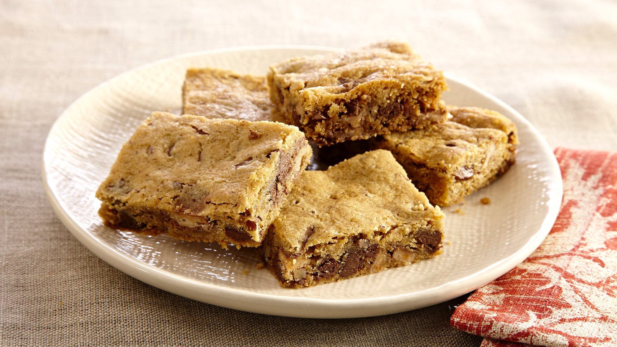 McCormick Toffee Pecan Cookie Bars