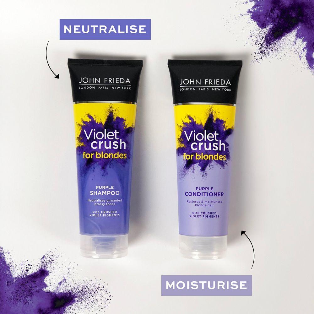 purple shampoo tubes
