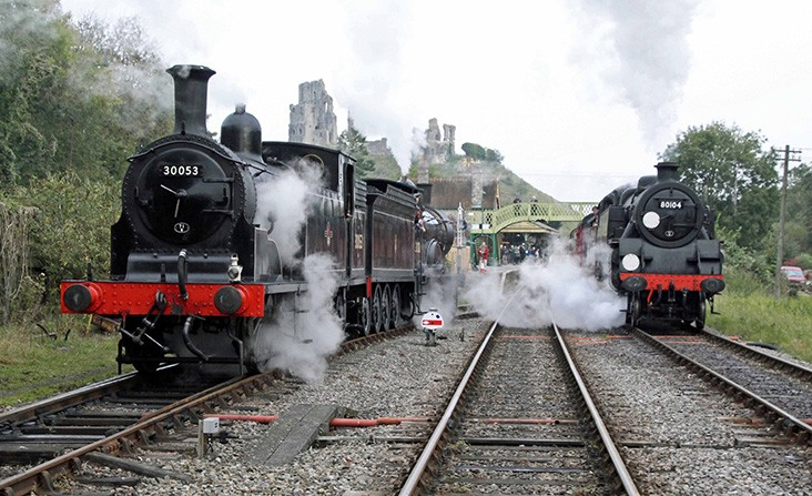 The historic Swanage Railway