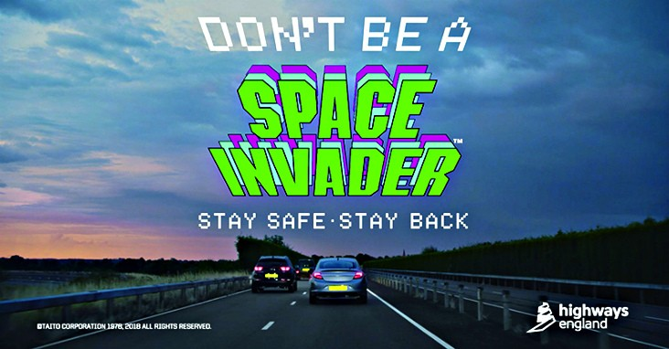 Don't be a Space Invader campaign