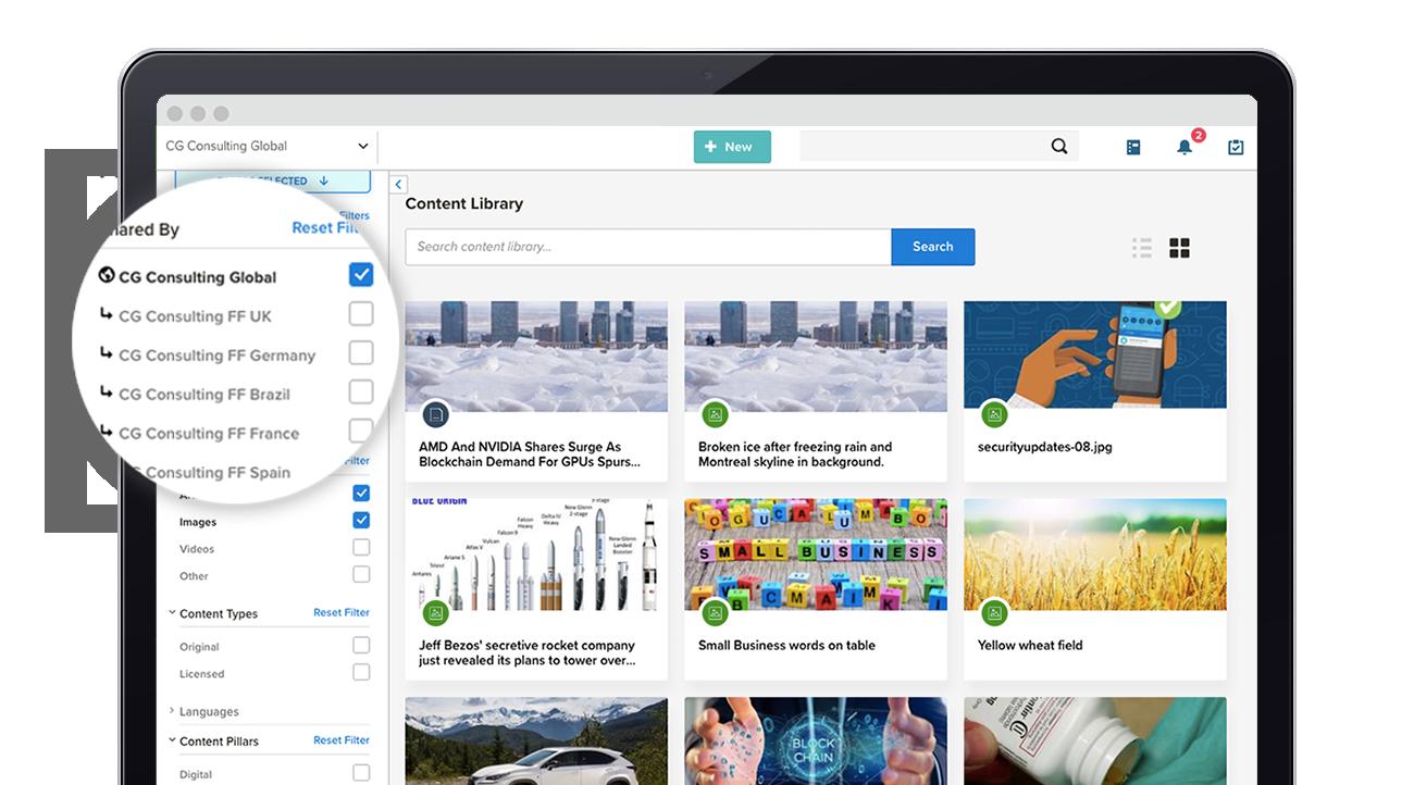 NewsCred Content Marketing Platform_Library