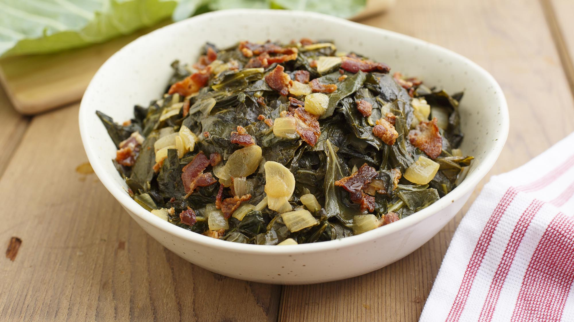 McCormick Collard Greens with Bacon