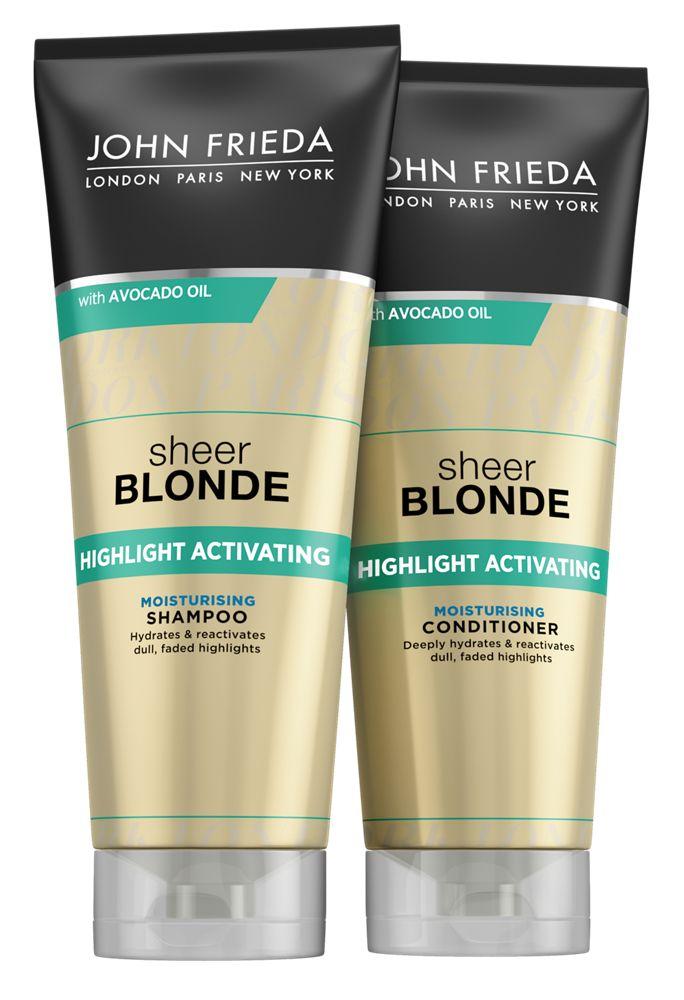 John Frieda Sheer Blonde Best Products For Blonde Hair