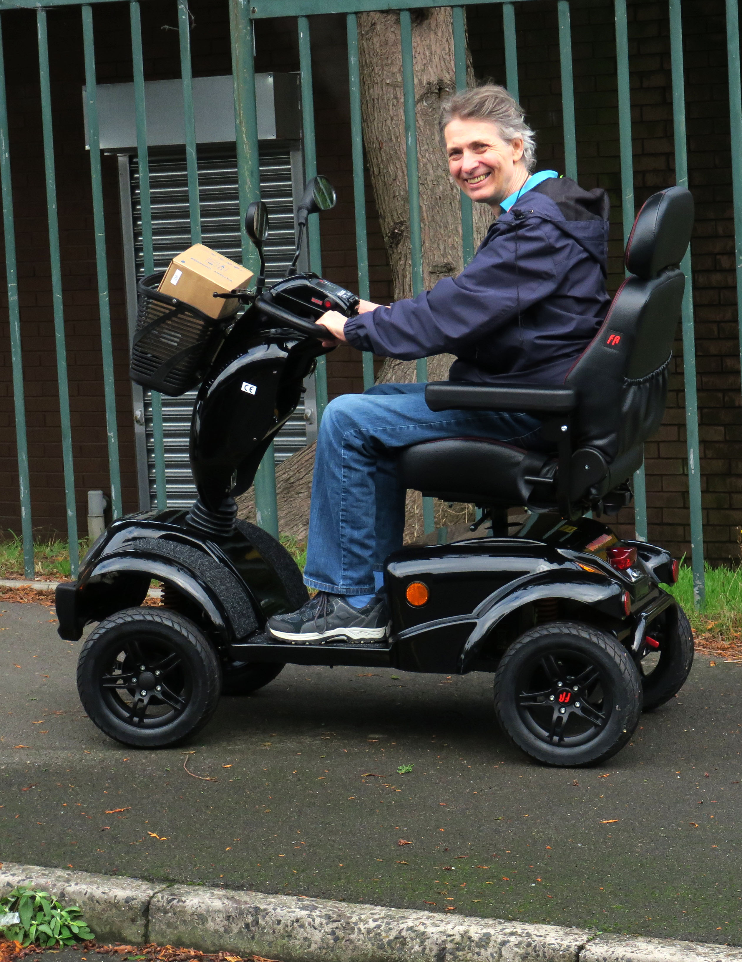 Freerider Landranger XL8, weekly rental £32.89
