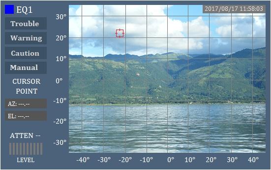 実際の風景にドローンの位置が表示される